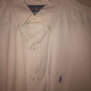 Ralph Lauren White Dress Shirt